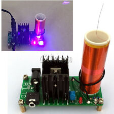 15W 15V-24V DC 12V Mini Tesla Coil Plasma Speaker Electronic Music Finished/ DIY