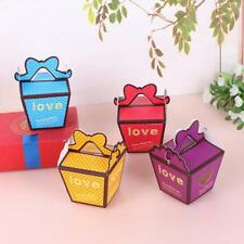 50pcs Bridal Wedding Prom Sweet Polka Dots Baby Shower Paper Favor Candy Boxes