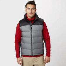 Grey The North Face Mens Nuptse 2 Gilet Outdoor Clothing Grey