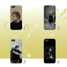 for iPhone & Samsung - ED Sheeran In Black Tshirt Lyric Phone Case Cover Q33