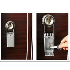 Wall Mounted Outdoor Security Key Locker Safe Box Storage Combination Home