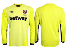 Official Umbro West Ham United Men's Away Goalkeeper Shirt 2016/2017