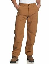 Carhartt Men's Washed Duck Single Knee Work Dungaree Utility Pant (B11)