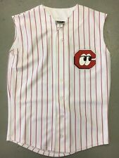 Chattanooga Lookouts Pinstripe White VEST Throwback Minor League Baseball Jersey