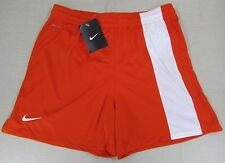 NIKE Women's Dri-Fit Performance Athletic Running Soccer Shorts Orange Sm NEW