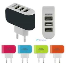 3-Port USB Wall Home Travel AC LED Power Charger Adapter 3.1A For iPhone 6 EU TR