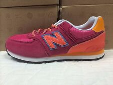 NEW KIDS YOUTH GIRLS NEW BALANCE KL574 SNEAKERS-SHOES-SIZE 6