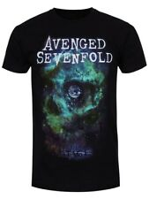 Avenged Sevenfold Space Face Men's Black A7X T-shirt