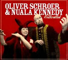 NUALA KENNEDY/OLIVER SCHROER - ENTHRALLED [DIGIPAK] USED - VERY GOOD CD