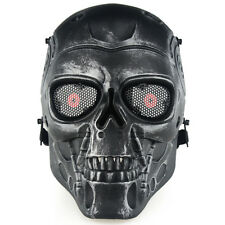 Terminator Tactical CS Paintball Skeleton characters Full Face Protection Mask