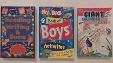 Children's Educational or Activity book (Choice of 3)
