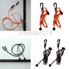 "2Pcs 1.2m/47"" Elastic Kayak Canoe Paddle Leash Bungee Fishing Rod Lanyard Rope"
