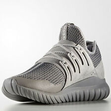 Adidas S76718 Men Tubular Radial Running shoes gray white sneakers