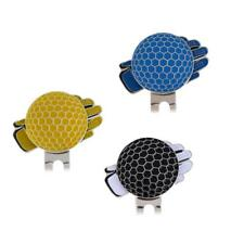 Stainless Steel Glove Design Golf Ball Marker Magnetic with Hat Clip Set