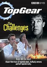 NEW! Top Gear: The Challenges BBC dvd (2007) J.  Clarkson; James May; R. Hammond