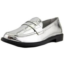Cole Haan Pinch Campus Hand-Stained Penny Apron Toe Patent Leather Loafer NWOB
