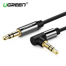 Ugreen Audio Cable 3.5mm 90° Angled Plug for Car Aux,Headphone, iPhone, Speaker