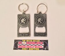 Long Trail Brewing Company Lot of (2) Metal Keychain Bottle Openers - Brand New!