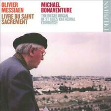 OLIVIER MESSIAEN: LIVRE DU SAINT SACREMENT USED - VERY GOOD CD