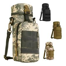Outdoor Molle Shoulder Strap Water Bottle Pouch Military Tactical Kettle Carrier