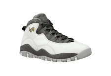 "Air Jordan 10 Retro BOYS GS ""LONDON"" Basketball Sneakers Shoes QS 310806-004"