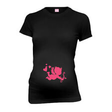 Baby Cupid New Mom Funny Maternity T-Shirt Tee Shirt Top Baby Shower Gift