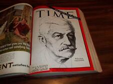1964 WILLIAM FAULKNER, BARRY GOLDWATER, DIRKSEN, LBJ, TIME MAGAZINE JULY - SEPT.