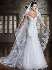 wholesale white/ivory Sweetheart Wedding Dress Bridal Gown Size:6 8 10 12 14 16+
