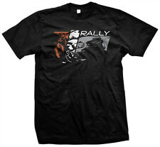 MENS Rally T-Shirt Black, Subaru WRX STi Blobeye Travis Pastrana David Higgins