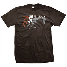 MENS Rally T-Shirt Brown, Subaru WRX STi Blobeye Travis Pastrana David Higgins