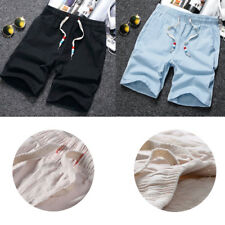 1Pcs Cotton Fashion Joggers Shorts Beach Shorts Men's Shorts Mens Casual Shorts