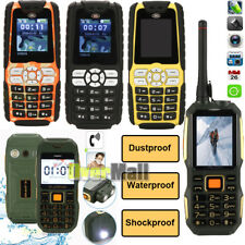 New Unlocked Dustproof Waterproof Shockproof Military Rugged Dual SIM Cell Phone