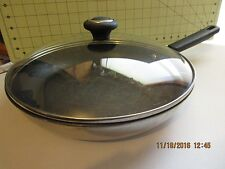 SKILLET WITH GLASS LID --12