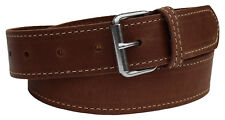 MENS LEATHER BELTS FOR MEN. 100% PURE GENUINE LEATHER. MENS BELT, REAL LEATHER