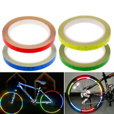 8m Mountain Bike Rim Decals Cycling Wheel Replacement Reflective Stickers