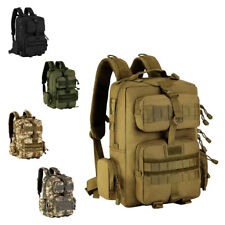 30L Camo Military MOLLE Backpack Daypack for Hiking Camping Outdoor Travel