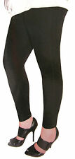 Tri-Coastal Design Womens Cotton Corduroy Stretch Leggings Grey & Black L & XXL