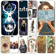 harry potter dream magic Hard Transparent Case Cover for iPhone