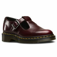 Dr.Martens Vegan Polley Cherry Womens Vegan Mary Janes T Bar Shoes