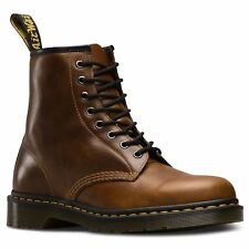 Dr.Martens 1460 8 Eyelet Butterscotch Mens Leather Classic Lace-up Ankle Boots