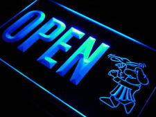 j770-b OPEN Pizza Shop Cafe Bar Shop Neon Light Sign