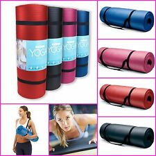 Extra Thick Yoga Mat Gym Exercise Pilates Mat Fitness Gear Home Gym Equipment