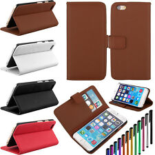 Flip Folio Credit Card PU Leather Wallet Stand Phone Case Cover For iPhone 6Plus