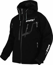 FXR Mens Black Vertical Pro Insulated Softshell Jacket Outerwear