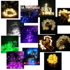 10/20/30/100 LED Battery Operated Fairy String Lights Christmas Party Xmas Decor