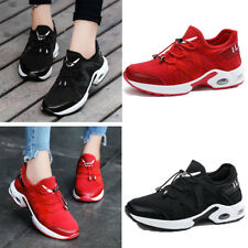 Women High top Breathable Sport Sneakers Running Wedge Boots Shoes Athletic