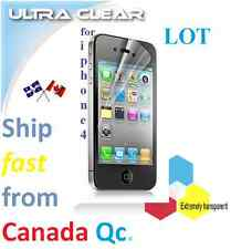 10X 5X ULTRA clear screen protector Apple iphone 4 4s iphone4 Protecteur écran ,