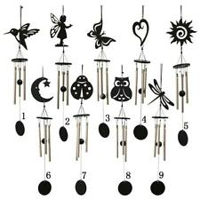Wind Chimes,3 Hollow Aluminum Metal Tubes Tuned Windchime for Indoor and Outdoor