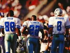 Emmitt Smith, Troy Aikman and Michael Irvin Photo Dallas Cowboys - select size