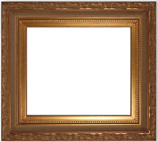 """6"""" WIDE Gold Bronze ornate antique family Oil Painting Wood Picture Frame 9207G"""